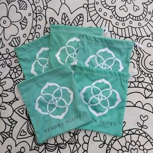 KENDRA SCOTT dust bags set 5